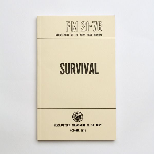 army field manual survival pdf