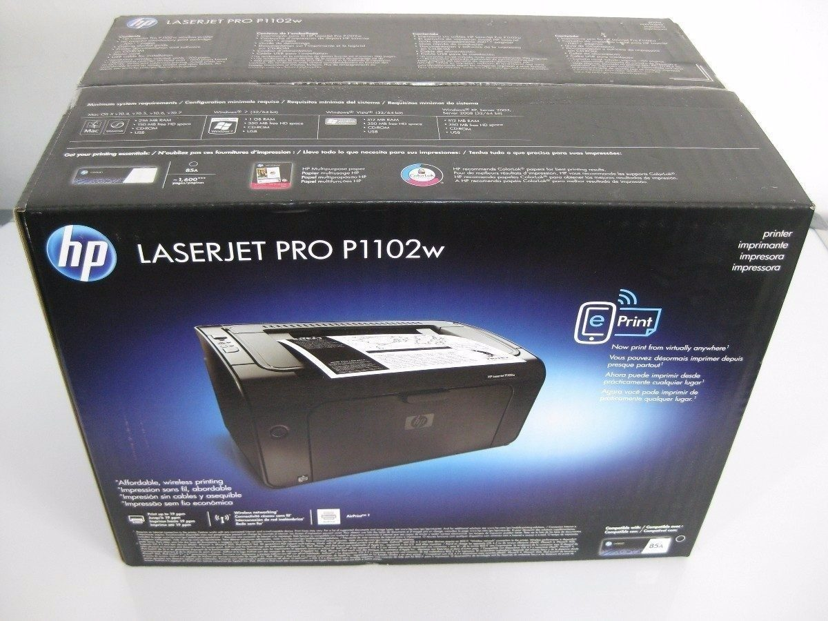manual impressora hp laserjet pro p1102w wireless
