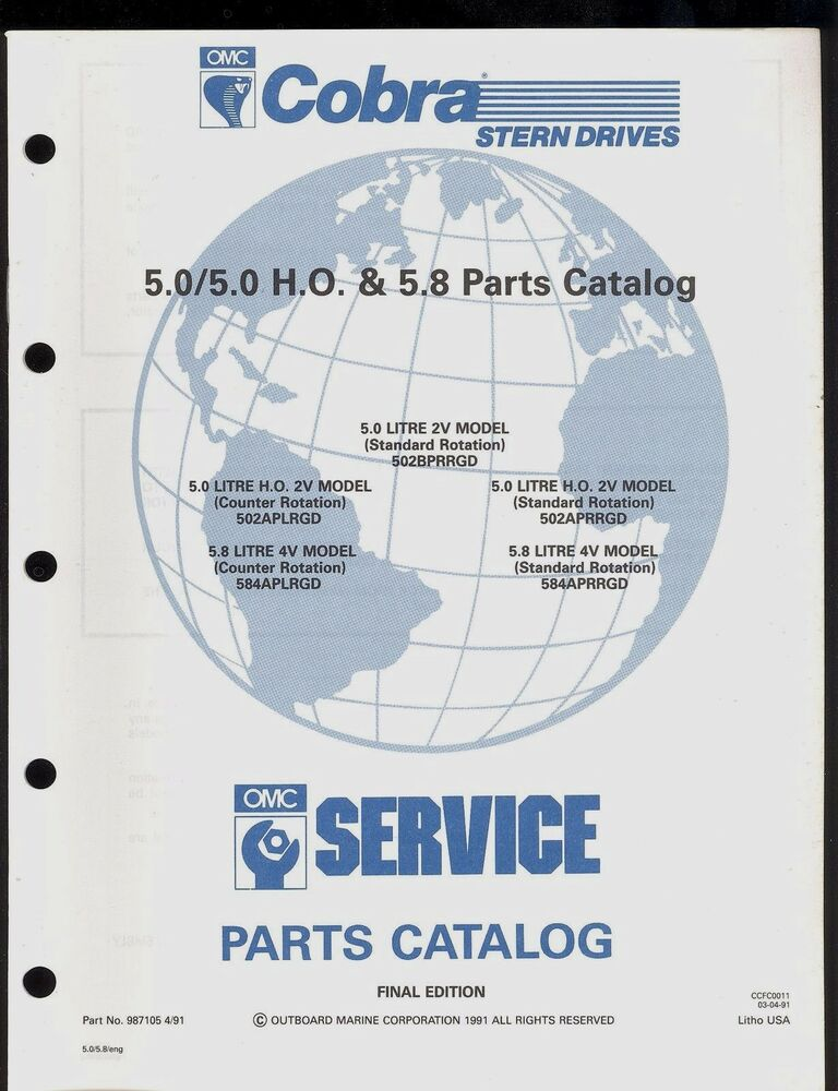 omc sterndrive service manual free download
