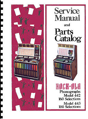 rock ola manuals for model 450 160 selection