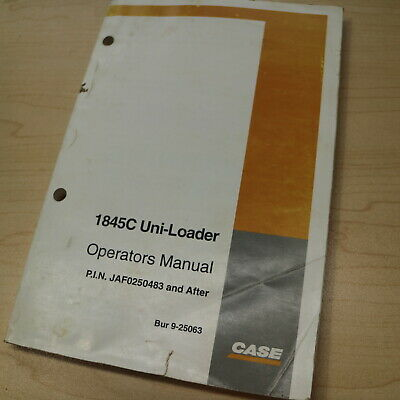 case 1845c operators manual pdf