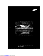 samsung rear projection tv manual