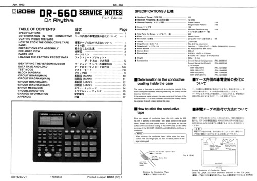 boss dr. rhythm dr-660 manual download