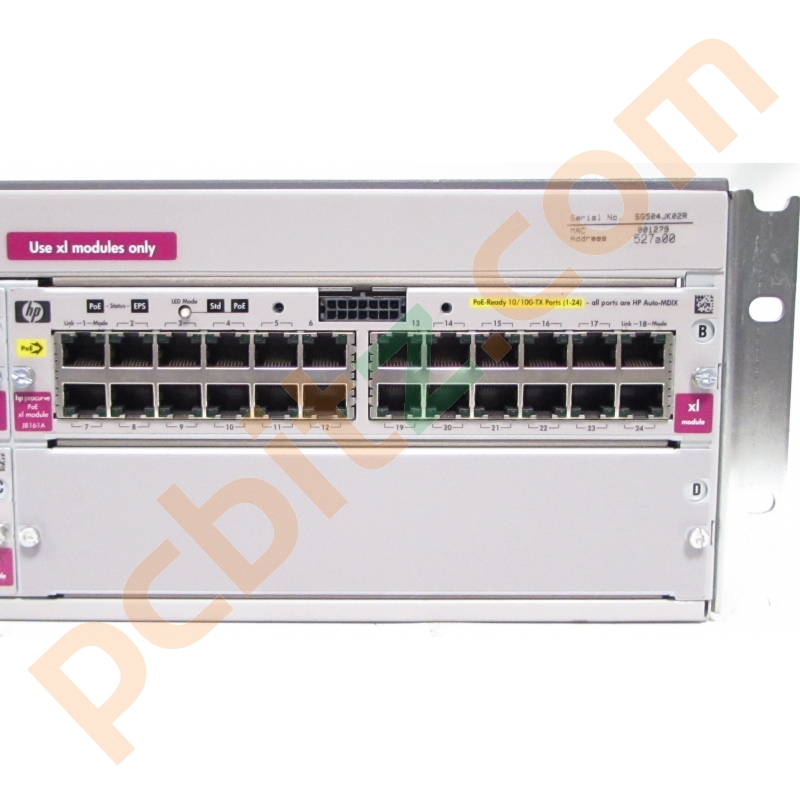 hp j4850a procurve switch 5304xl manual