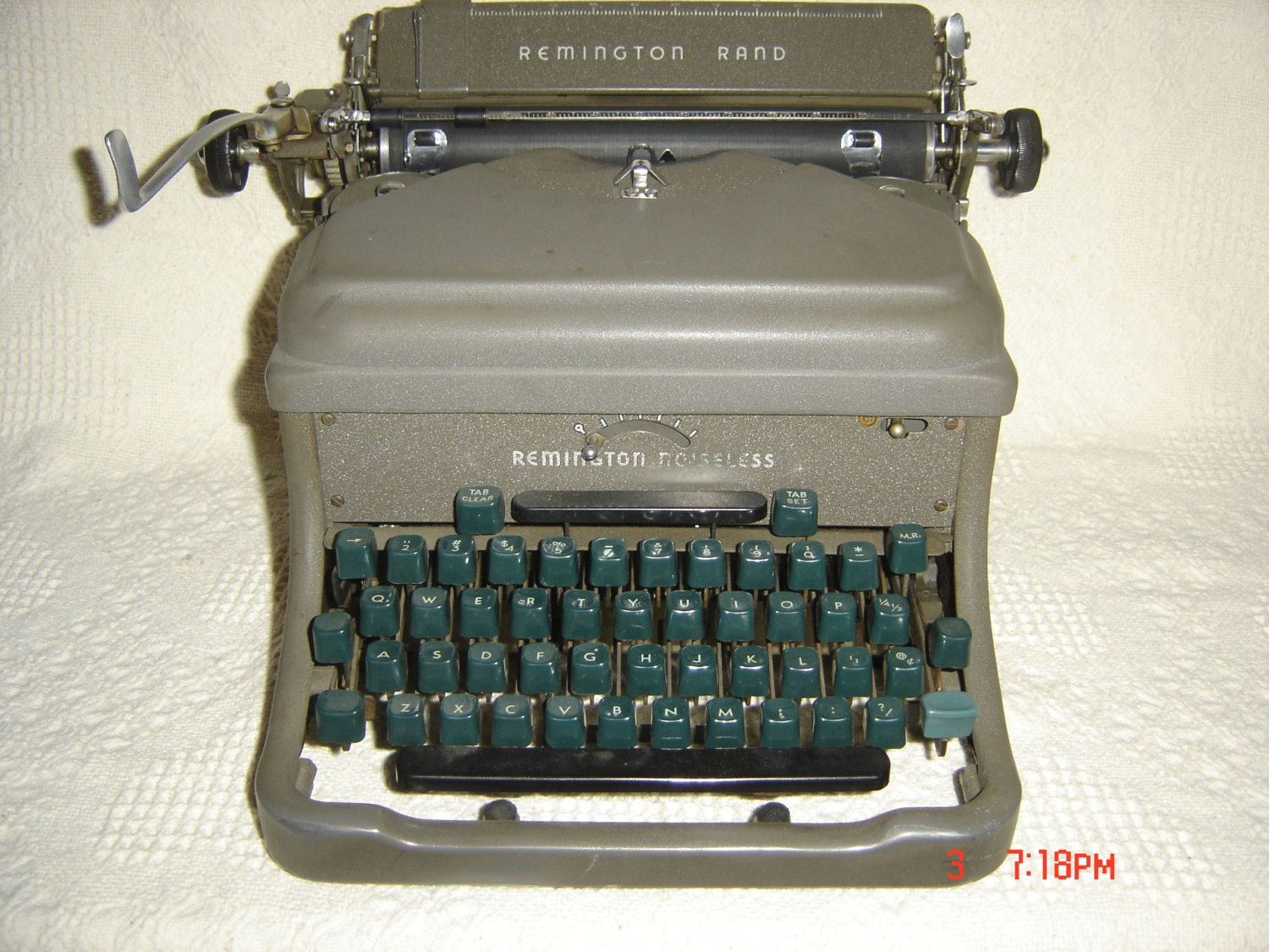 remington noiseless model seven user manual