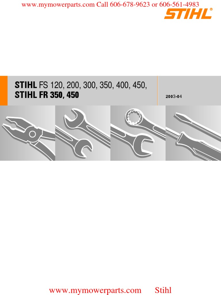 stihl fs 220 manual pdf